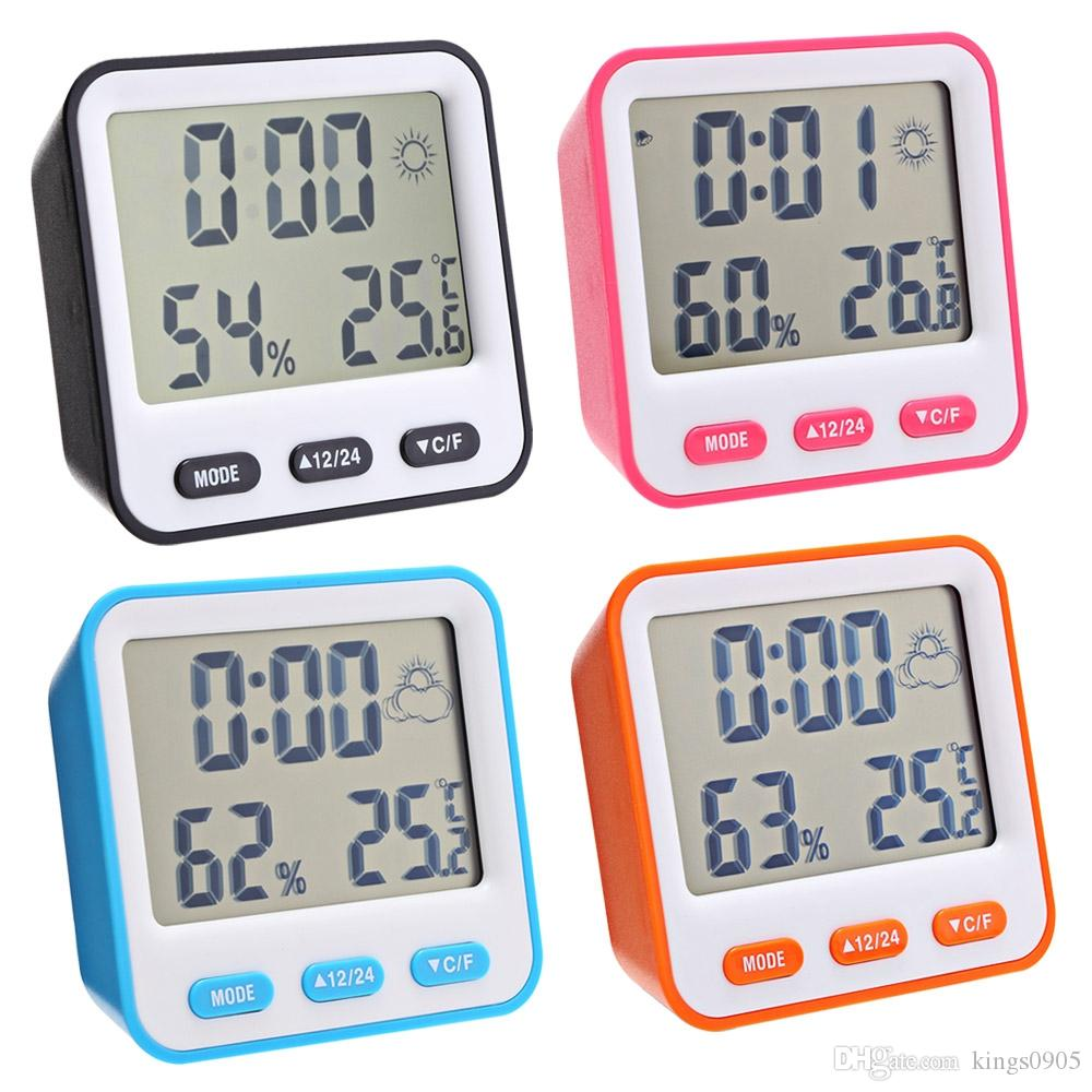 Alarm Clocks Clocks Portable Mini Lazy Digital Lcd Pill Alarm Clock With Date Calendars Electronic Desktop Digital Table Clocks Home Decor