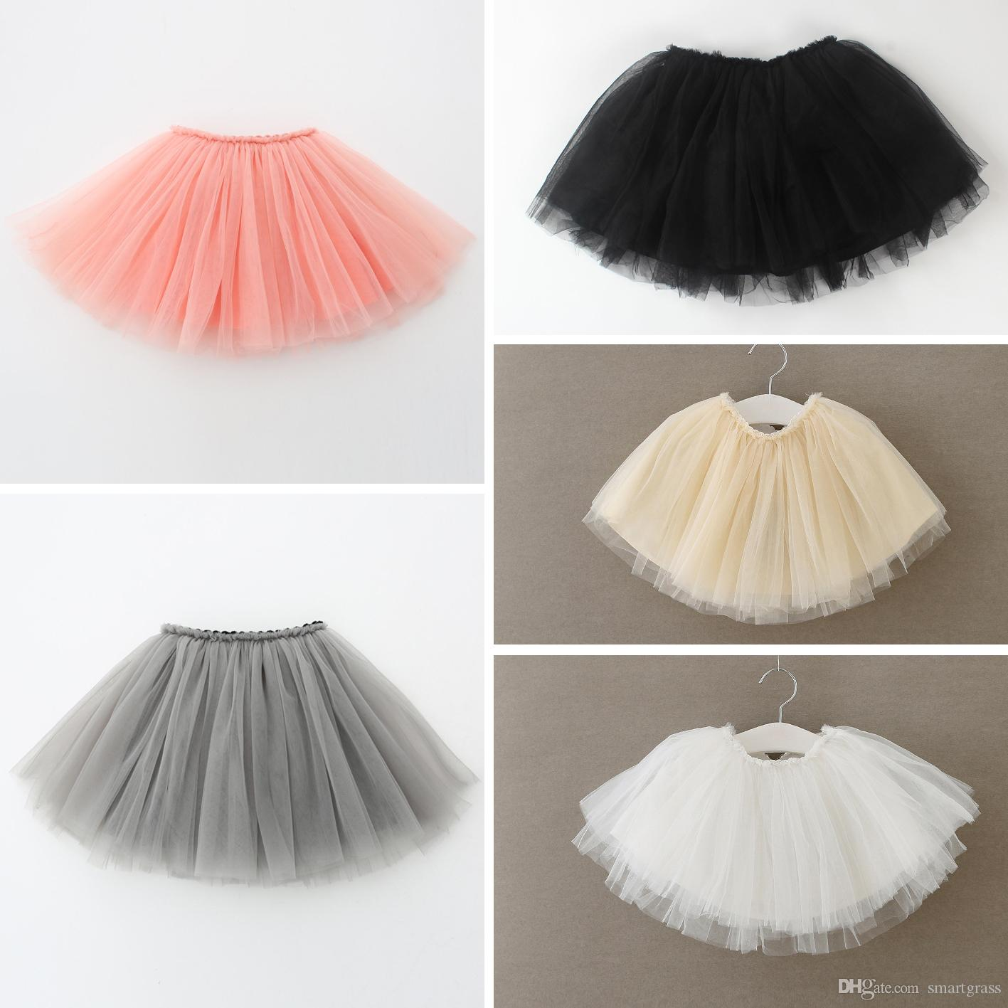 Girls Tutu Dresses 5 Colour Baby Girls Clothing Baby Tulle Dress