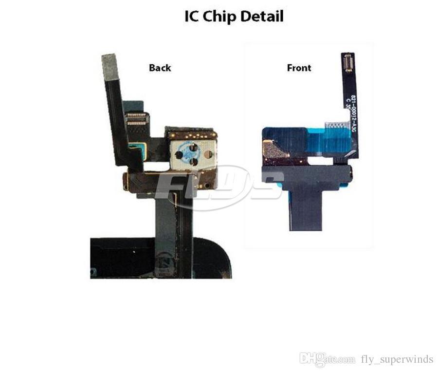 Für iPad Mini 1 Mini 2 Mini 3 Touch Digitizer Bildschirm mit IC Home Button Flex Kabel und Klebstoffe vorinstalliert Free DHL