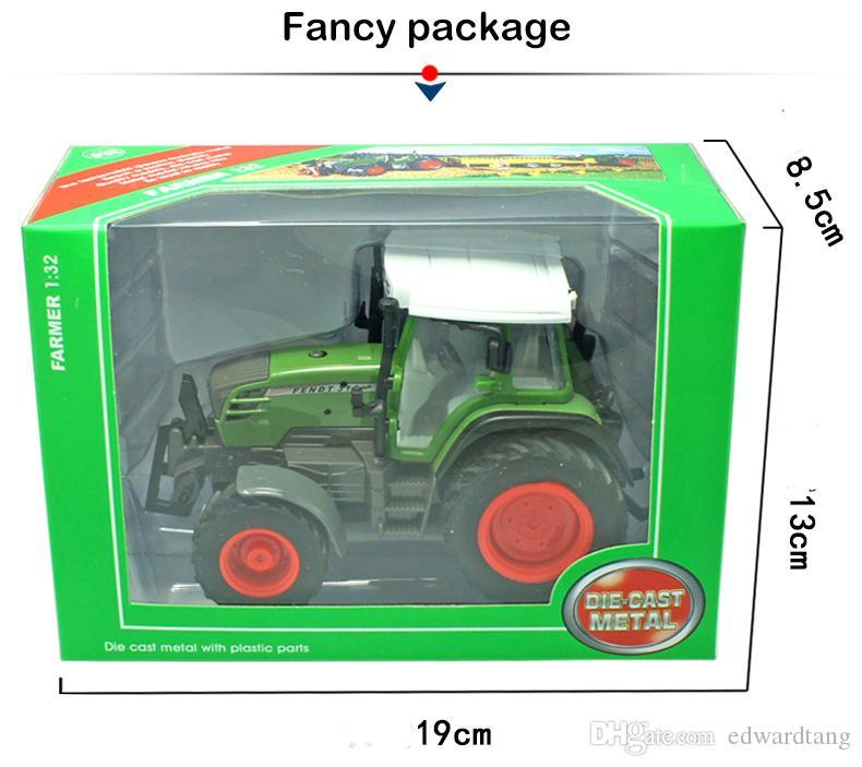 Alloy Truck Model, DIY Трактор, Сельскохозяйственная ферма Agrimotor, Boy 'Toy, High Simulation, Детские' рождественские подарки, Коллекционирование, Украшение дома