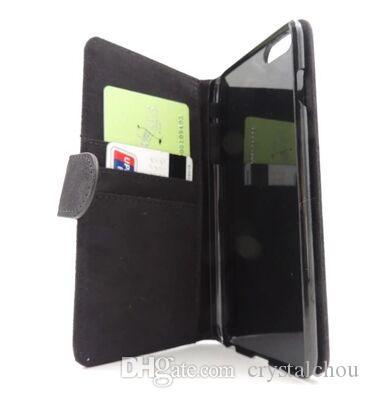 2 차원 승화 빈 가죽 커버 케이스 피부 자석과 카드 슬롯 아이폰 7 플러스 6 플러스 에 대 한