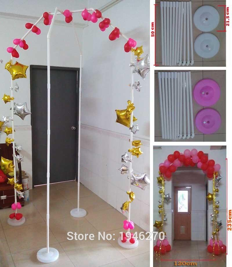 2018 balloon arch diy wedding decorations party supplies 2018 balloon arch diy wedding decorations party supplies homegarden beach wedding narrow door balloon arch basespoles from crystalstory 7397 dhgate junglespirit Images