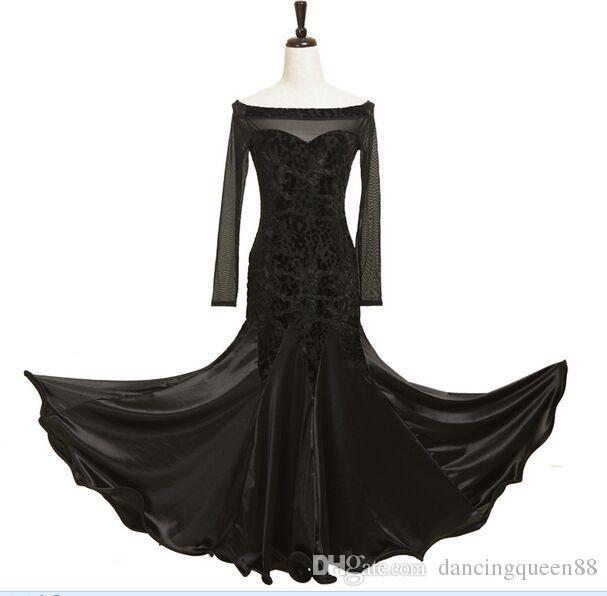 Custom Made 2018 Yeni Balo Salonu Vals Elbiseler Leopar Bayan Balo Salonu Dans Kadınlar Için Vestidos De Festas Deniz Kostümleri Giymek