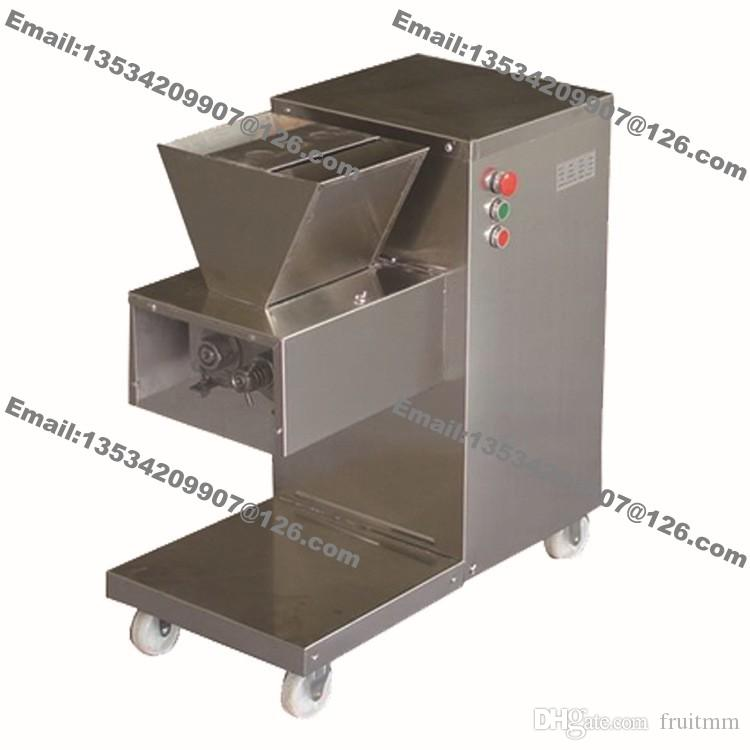 800KG/H Stainless Steel 2.5mm-25mm Customized Blade 110v 220v Electric Commercial Fresh Meat Tenderizer Cutting Processing Machine