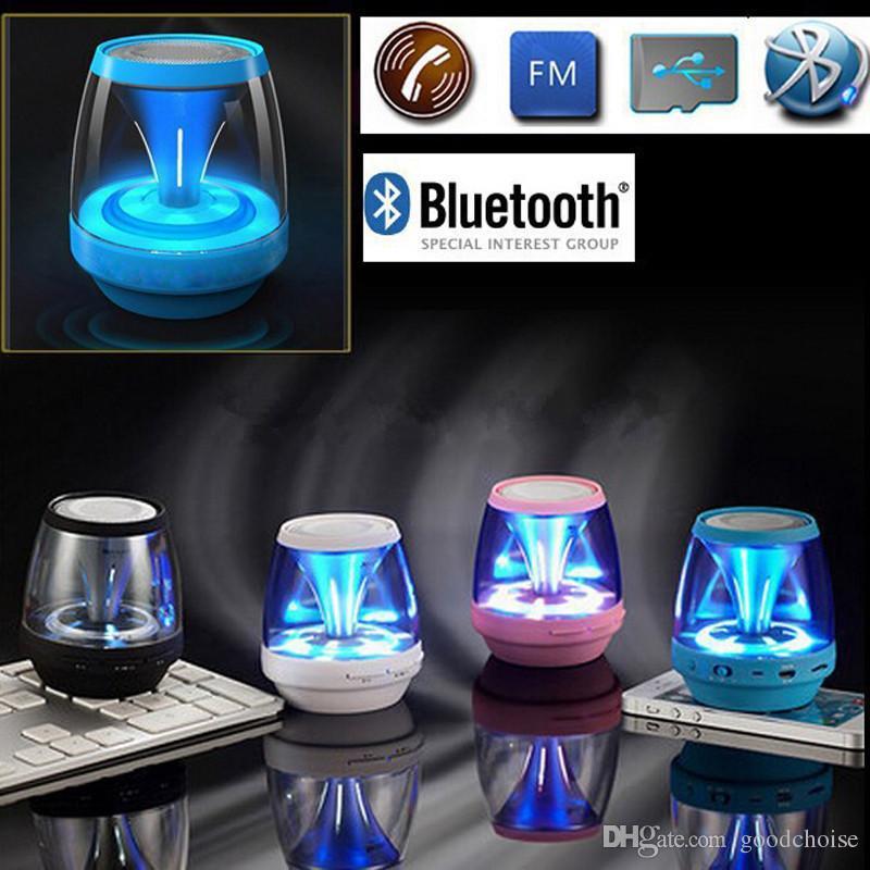 M28 سماعات بلوتوث لاسلكية صغيرة مكبر الصوت LED TF USB مضخم صوت سماعات بلوتوث ستيريو MP3 مشغل موسيقى الصوت