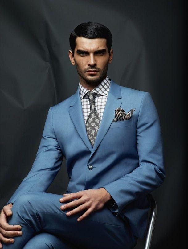 2018 Wholesale Custom Made Tuxedos Blue Color Men\'S Suits Prom Suits ...