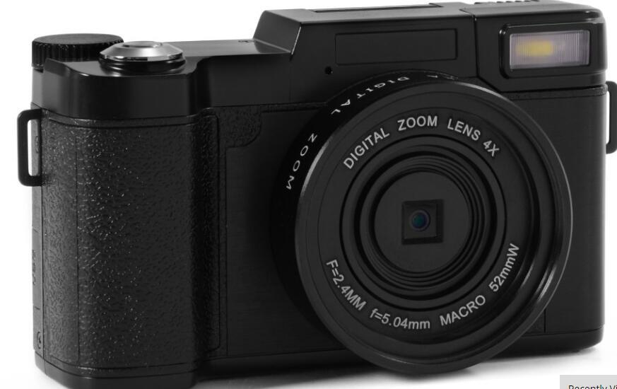2017 best selling 24MP HD Half-DSLR Professional Digital Cameras with 4x Telephoto Fisheye & Wide Angle Lens Camera HD Camera
