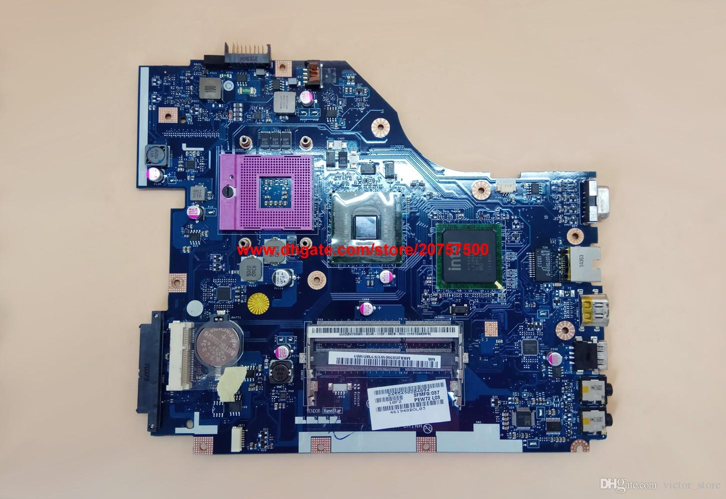 Original & High Quality for Acer Aspire 5336 MBR4G02001 PEW72 LA-6631P Laptop Motherboard Mainboard Tested