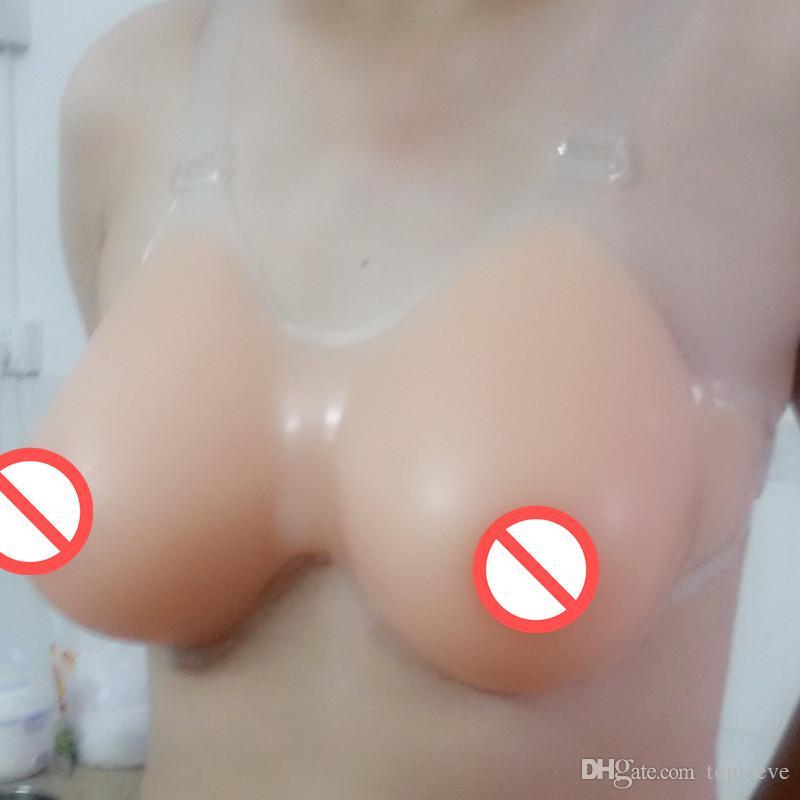 Topleeve Sz 46 48 50 crossdresser realista silicone falso formas de mama crossdress transgênero transsexual seios prótese travesti