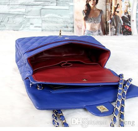حار بيع الكلاسيكية موضة حقائب النساء حقيبة يد حقيبة الكتف سيدة صغيرة سلاسل golder اليد حقائب حقائب 4 ألوان