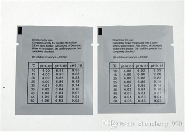 Pocket LCD Digital PH Meter Pen PH Tester di qualità dell'acqua con 2xpH Buffer Polveri Pool Spa 100 pz / lotto dhl gratuito