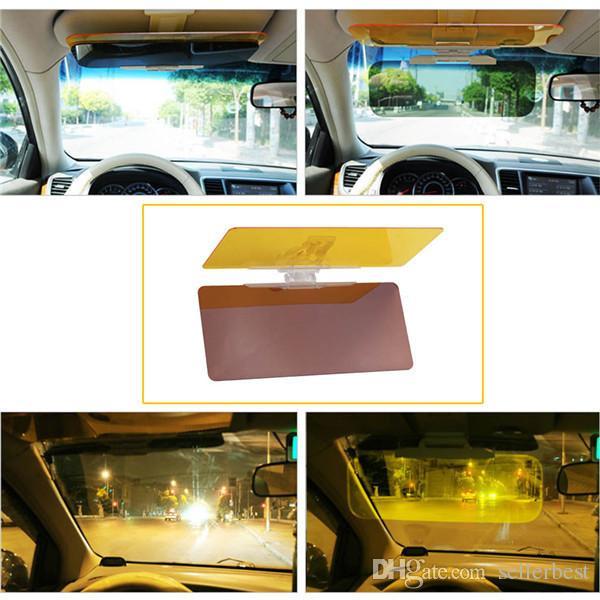 HDVISION Araba Güneş Visor Sürücü Gün Için Ve Gece Anti-dazzle Ayna Anti-Glare Gözlüğü Güneş Siperliği Otomobil Güneş gölgeleme Blok
