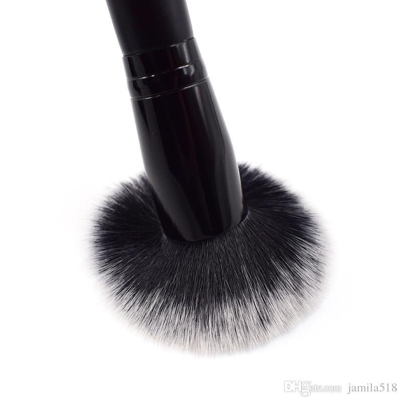 provide sample purchase Flat Top Round Makeup Foundation Brush Powder Cream Liquid Blush Blusher Blending Contour Concealer Highlight Brush