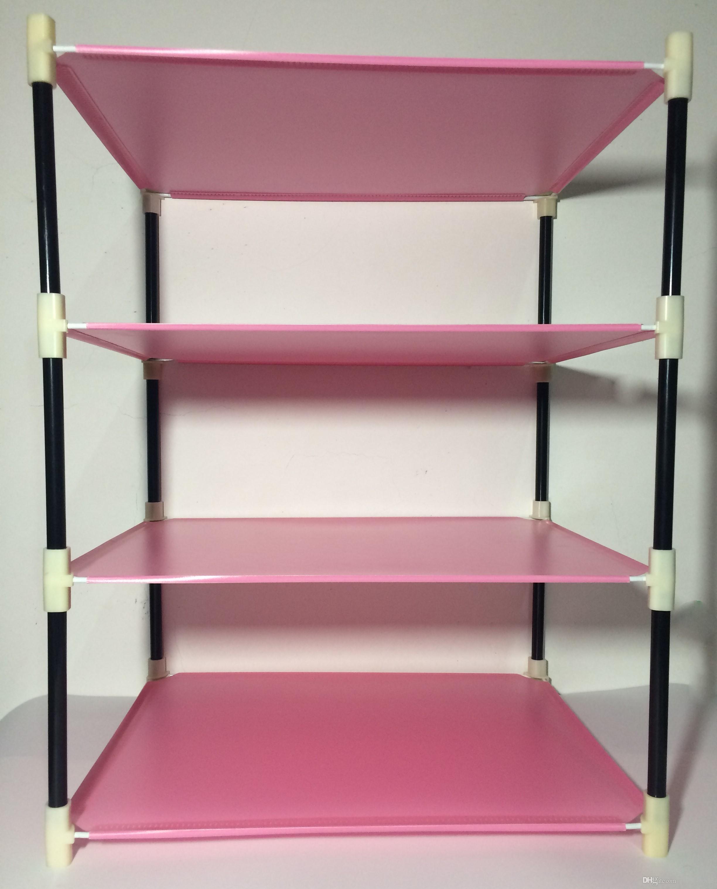 2017 2016 popular new living room bathroom storage rack stand storage rack storage holders racks 4 layers pink from china_uncle 403 dhgatecom - Magenta Bathroom 2016