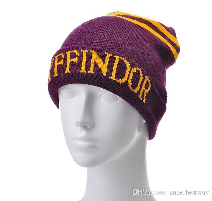 Harry Potter College Hat 4 Roles Gryffindor Hufflepuff Slytherin Ravenclaw Halloween Cosplay Novedad Juguete OTH610