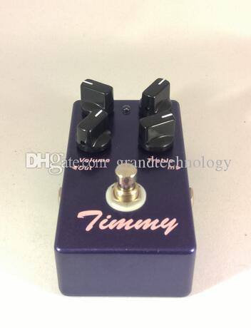 Freies Verschiffen Whole heiße verkaufende OEM Timmy Overdrive elektrische Gitarren-Effekt-Pedal True Bypass Musikinstrumente freies Verschiffen
