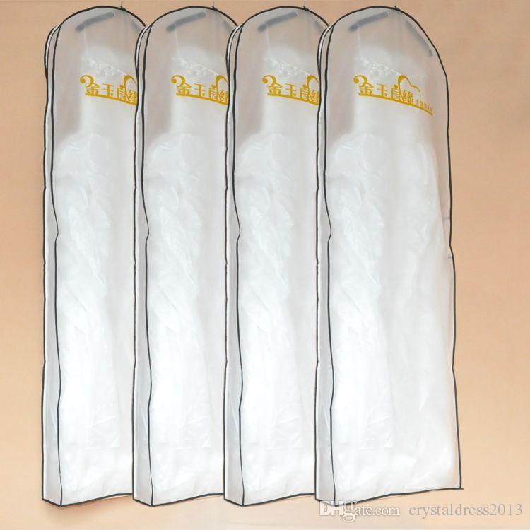 Wedding dress gown bags white dust bag travel storage dust for Wedding dress travel case