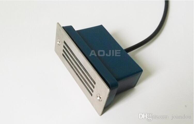 La venta caliente 3X3W calienta el frío blanco LED llevó la lámpara subterránea Impermeable IP65 LED Spot Floor Garden Yard LED subterráneo luz AC85 ~ 265V