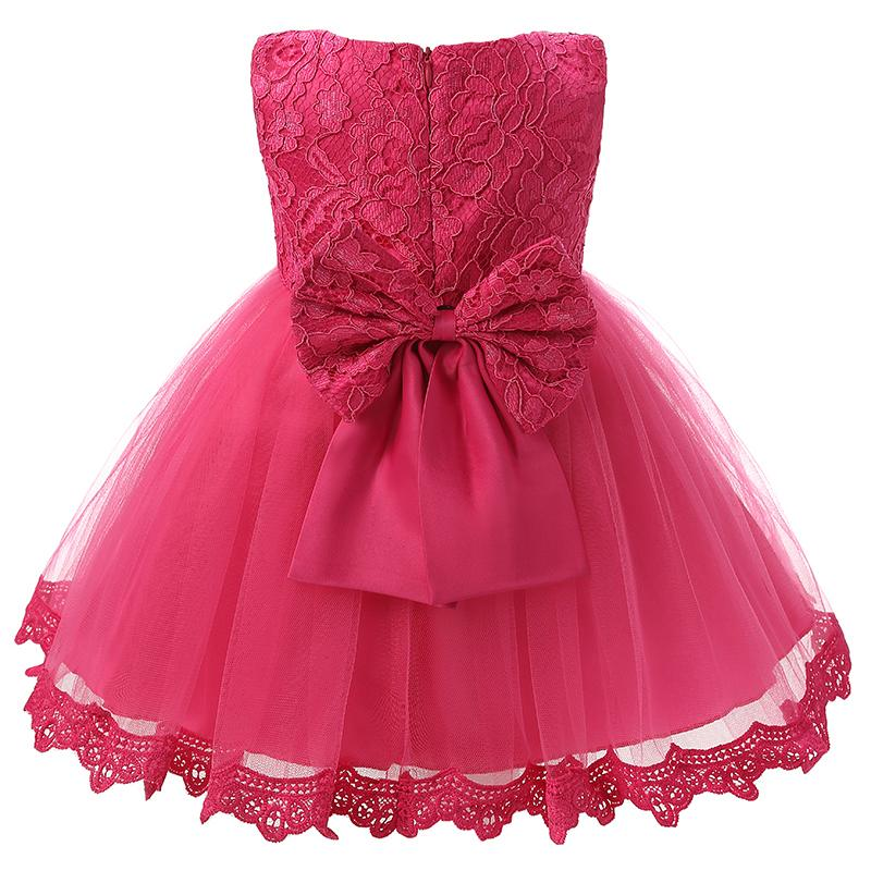 a682b30ca972 Wholesale- Vintage Lace Baby Girl Dress For Wedding Party 1 Year Birthday  Baby Dresses Girls Princess Kids Tutu Dress Baptism Girl Clothes