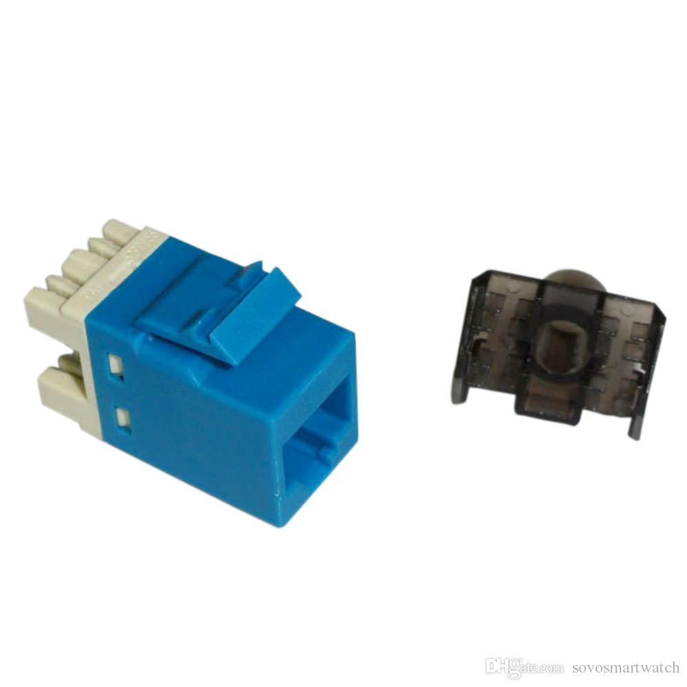 MÓDULOS UTP CAT6 PUNCHDOWN Módulo Keystone Conector de red Herramienta de red de conector Gigabit Módulos de seis clases Toma de red CAT6 RJ45
