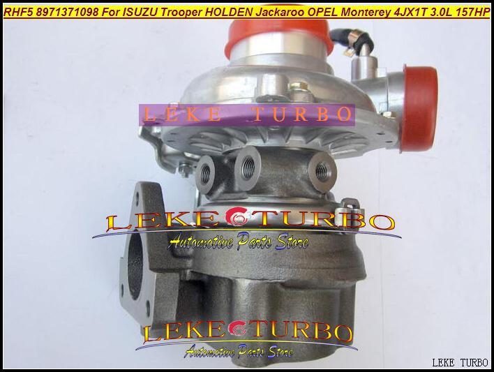 RHF5 8971371098 Turbo Turbocharger For ISUZU Trooper 1999-04 HOLDEN Jackaroo OPEL Monterey 4JX1TC 4JX1T 3.0L 157HP (6)