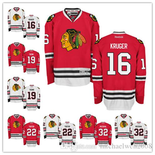 901d24796 ... authentic white away nhl jersey c9432 db2c6  sweden chicago blackhawks  jerseys 16 marcus kruger 19 toews 22 tootoo 32 michal rozsival 8f112 b1631