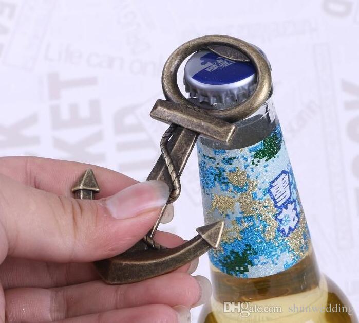 Décapsuleur en forme d'ouvreur créatif unique ouvreur de bière en forme de cadeau de mariage pour la fête d'anniversaire de mariage avec la boîte d'emballage