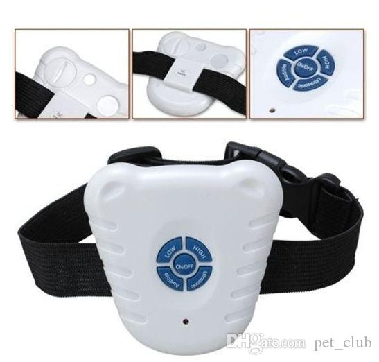 41g Dog Collar Training Anti Bark Stop E-collar with Ultrasonic Beep Big Discount For all sizes Dogs