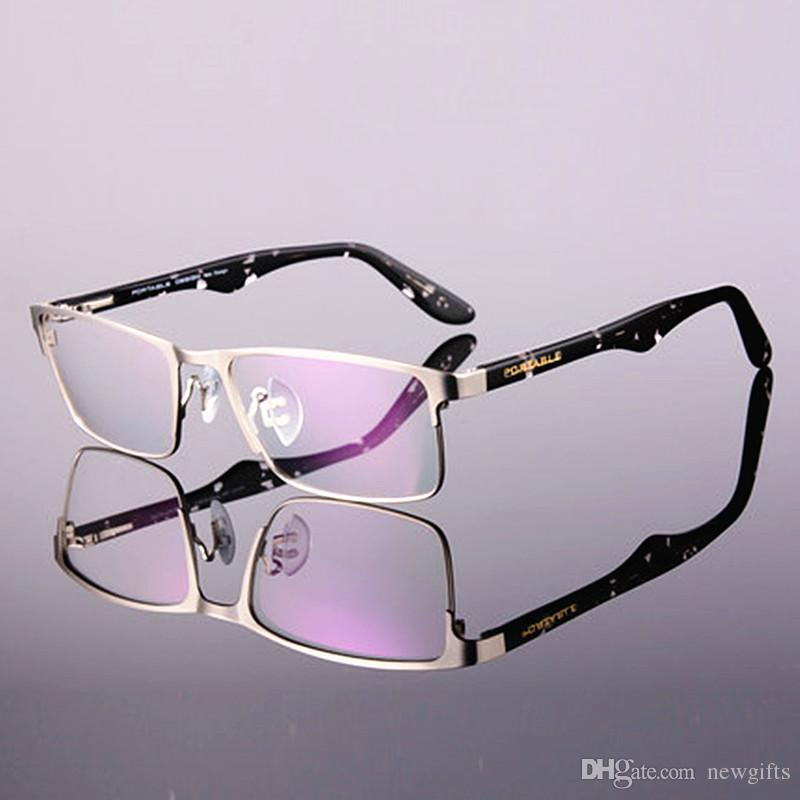 2016 New Fashion Style Quality Stainless Steel Men Style Eye Glasses ...