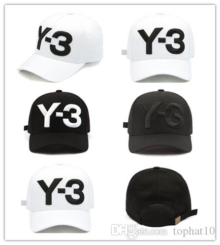 43760b48 Top Quality New Y 3 Dad Hat Big Bold Embroidered Logo Baseball Cap  Adjustable Strapback Hats Y3 Cap Rack Caps From Tophat10, $3.02| DHgate.Com