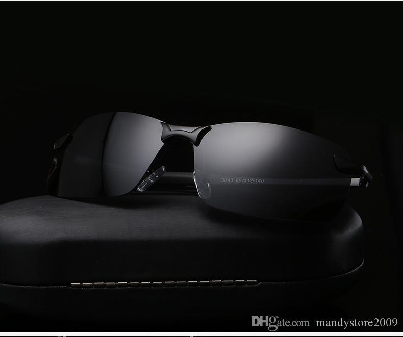 بولارويد الرجال الاستقطاب القيادة نظارات الرجال الظلام نظارات القيادة نظارات نظارات آمنة للقيادة 10 قطعة / الوحدة إسقاط الشحن