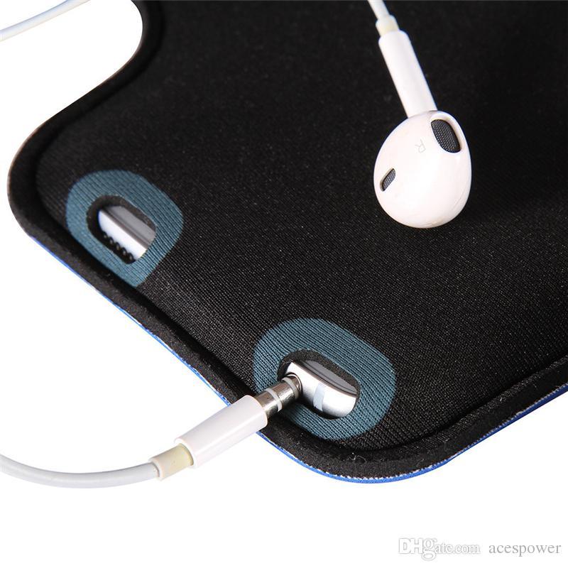 iPhone 11 Pro Max Sport impermeabile in esecuzione Armand Bracciale in esecuzione Borsa da corsa Supporto allenamento Pounch Cassa del telefono Galaxy Nota 10 Plus Braccio