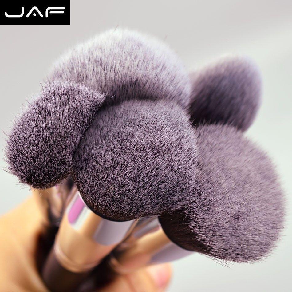 Jaf 24 قطعة / المجموعة النايلون ماكياج فرشاة مجموعة عالية الجودة المهنية ماكياج فرش الكابوكي فرشاة مع الحقيبة الجلدية J24001