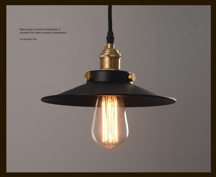 Vintage-Stil Licht Pendelleuchte Loft kreative Persönlichkeit Industrielle Lampe e27 Birne Licht moderner Kronleuchter American Style Hausbar Kaffee