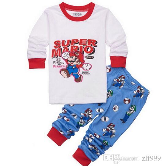 Brand New Kids Cartoon Sleepwear Baby Batman Nightwear Children Long  Sleeved Pajamas Kids Pyjamas Baby Boy Pyjamas Big Boys Christmas Pajamas  One Direction ... 8869501a4