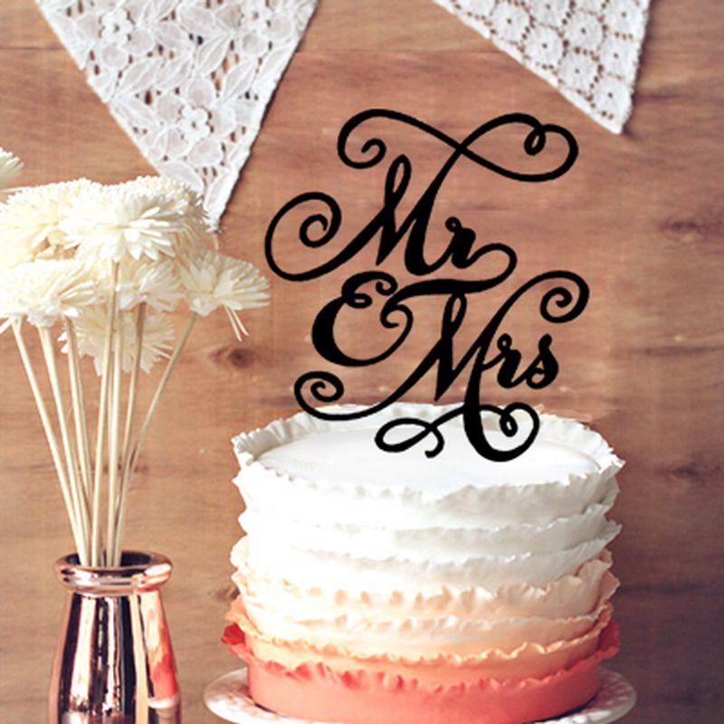 Wedding Cake Topper Cursive Mrs Mrs For Lesbian Wedding Cake