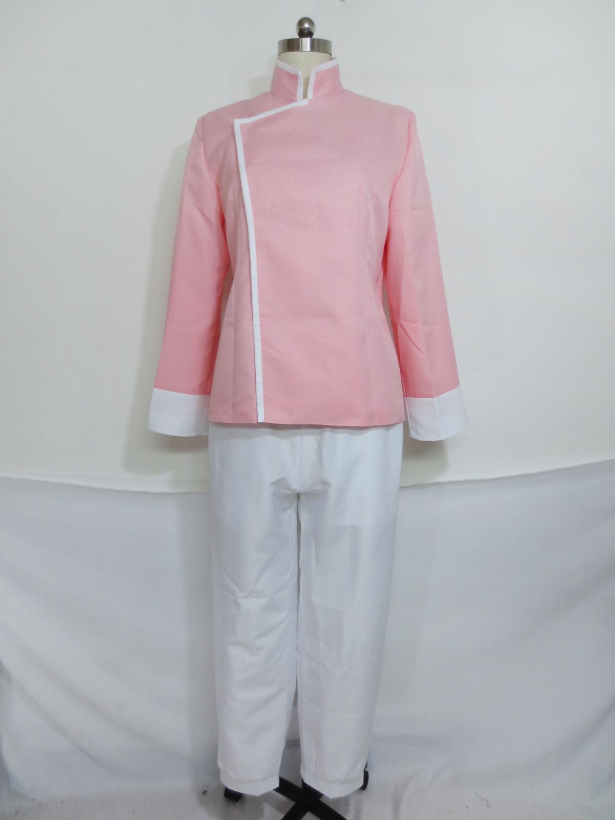 Fullmetal Alchemist Cosplay Mai Chang Rosa Kung Fu Uniform Kostüm