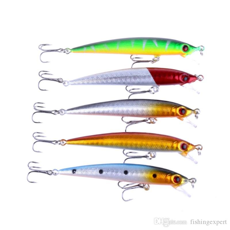 Jerkbaits Fishing Lures 8.5cm Minnow Hard Baits with 6# Fishing Hooks and 6G Lifelike Fake Lure for Fishing Carp