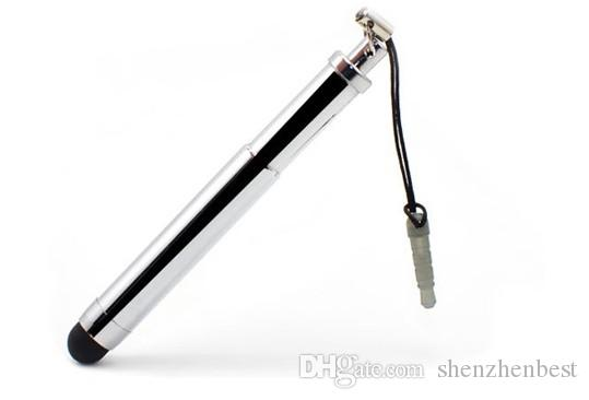 Wholesale Retractable Stylus Pen Touch Pens For Capacitive Screen IPAD PHONE Tablet PC