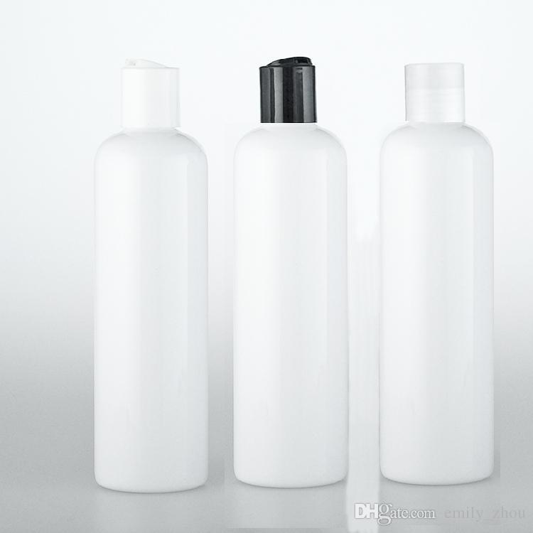 300ml Disc Cap White Plastic Bottle 300cc Shampoo/Body ...