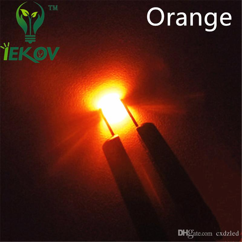 0603 SMD Orange/Amber Led Ultra Bright Light Diode High Quality SMD/SMT Chip lamp beads Suitable for bicycle DIY