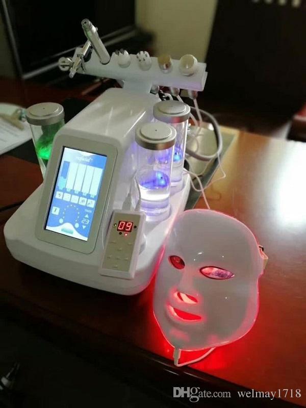 7 em 1 pdt portátil levou máscara facial câmara de oxigênio hiperbárico limpeza da pele aperto preço da câmara hiperbárica