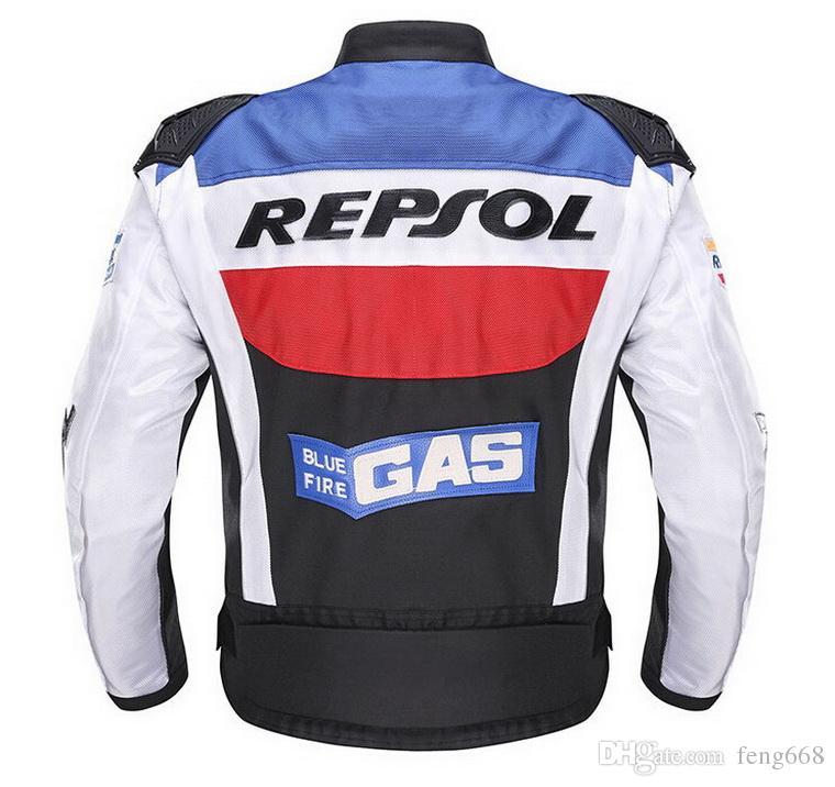 DUHAN motociclismo roupas de corrida D-VS03 motocicleta ternos Oxford pano motociclistas REPSOL jaqueta de Liga de metal protetora ombro