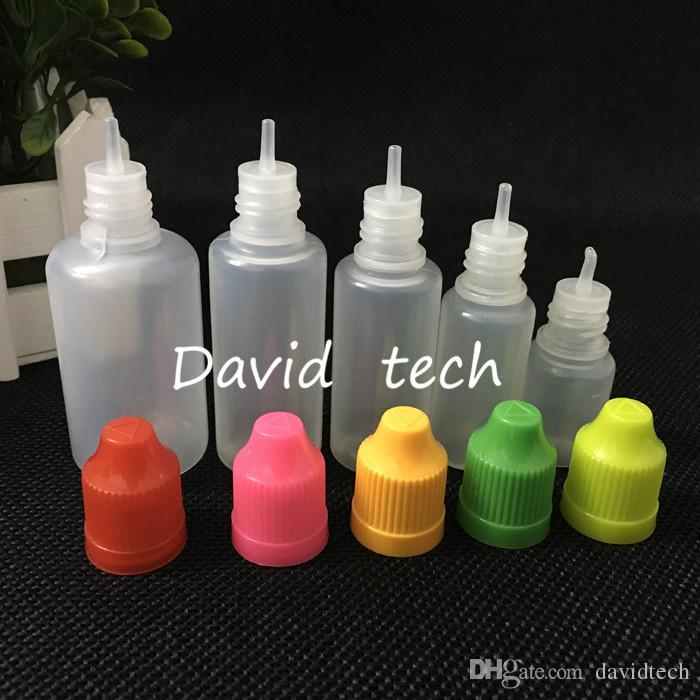 Großhandelspreis Nadel Flasche aus Kunststoff Tropfflasche Leere Flasche 50 ml Kunststoff-Flaschen mit langen dünnen Spitzen für E Flüssigkeit