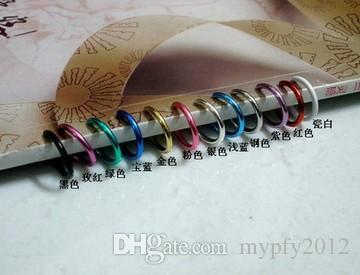 Nariz colorido Anel Orelha Lábio Nariz Clipe Em Falso Piercing No Nariz Lábio Anéis de Argola Brincos ear clip body jewelry QQ