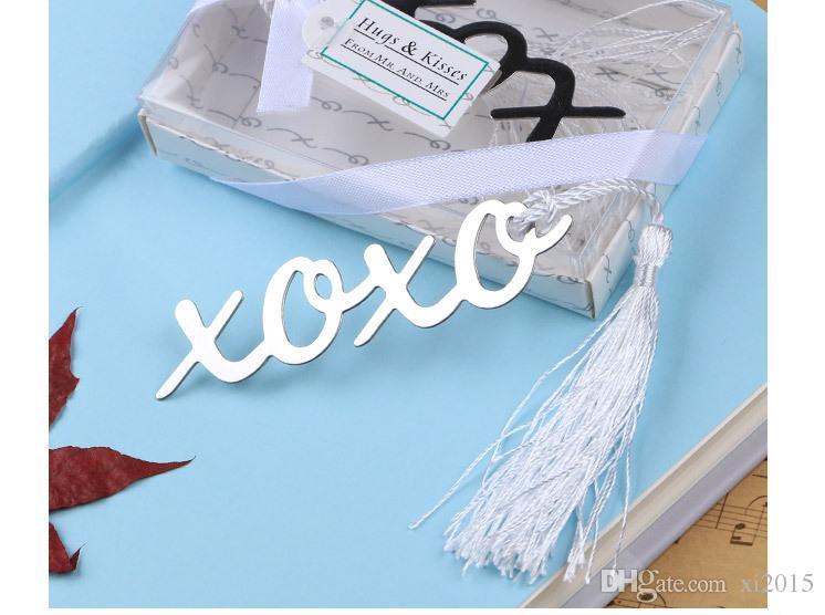 Atacado Marcador Xoxo Carta Marcador Do Vintage Para Livros Com Borla Requintado Presente Para Crianças # TC5411