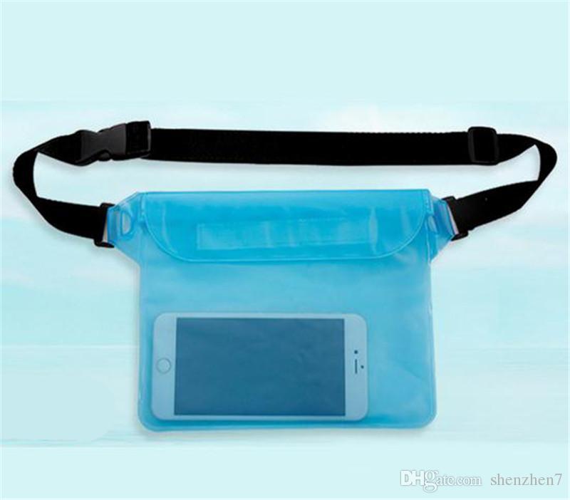 Pour taille universelle Pack Étanche Poche Cas Preuve De L'eau Sac Sous-marine Sec Pochette Couverture Pour Téléphone Portable Téléphones Mobiles Samsung LG SCA160