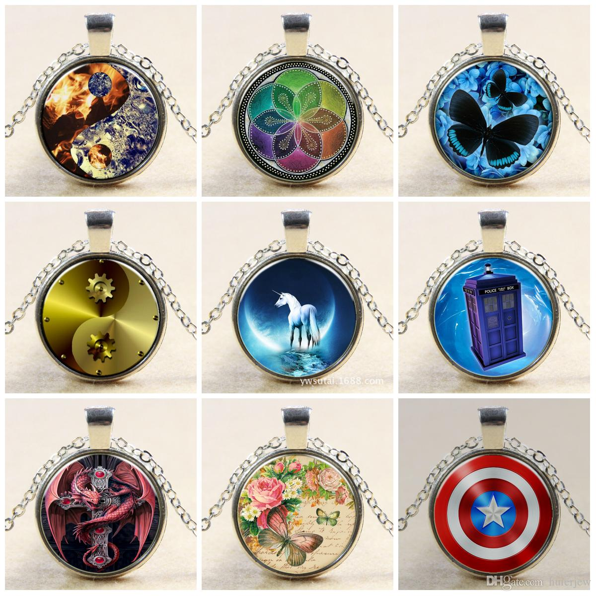Wholesale necklace pendants doctor who necklace round glass wholesale necklace pendants doctor who necklace round glass necklace doctor who time lord seal pendant time lord gallifreyan glass cabochon necklaces coin aloadofball Image collections