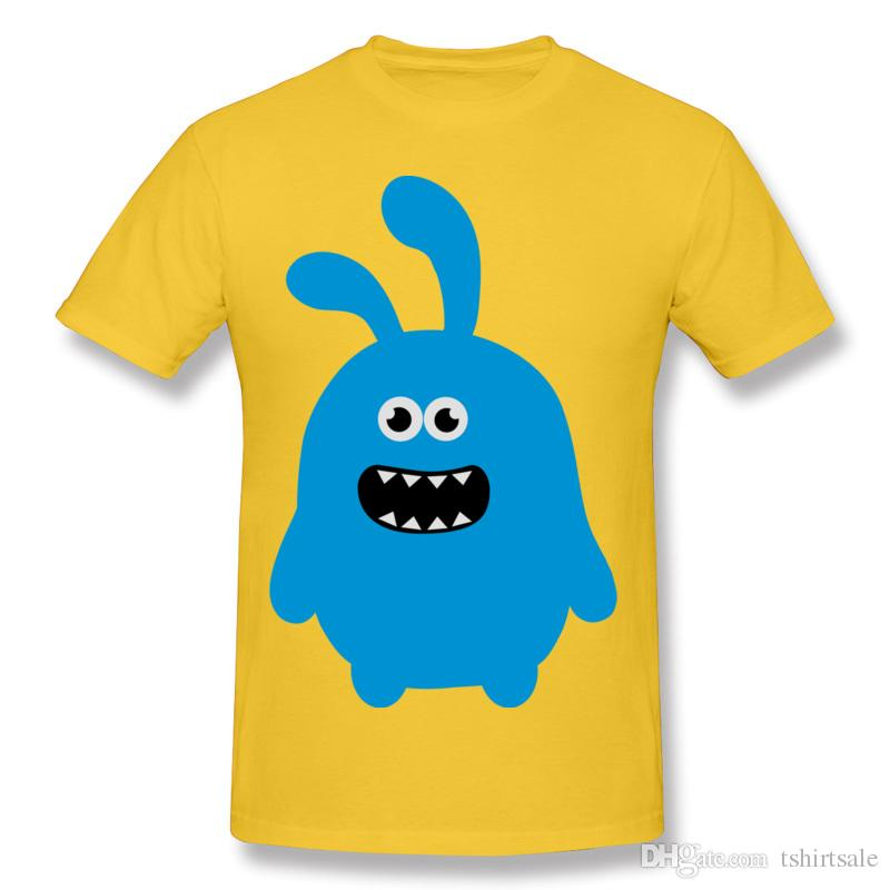 Male Custom Tee Shirts Funny Cute And Crazy Bunny Personalized T ...