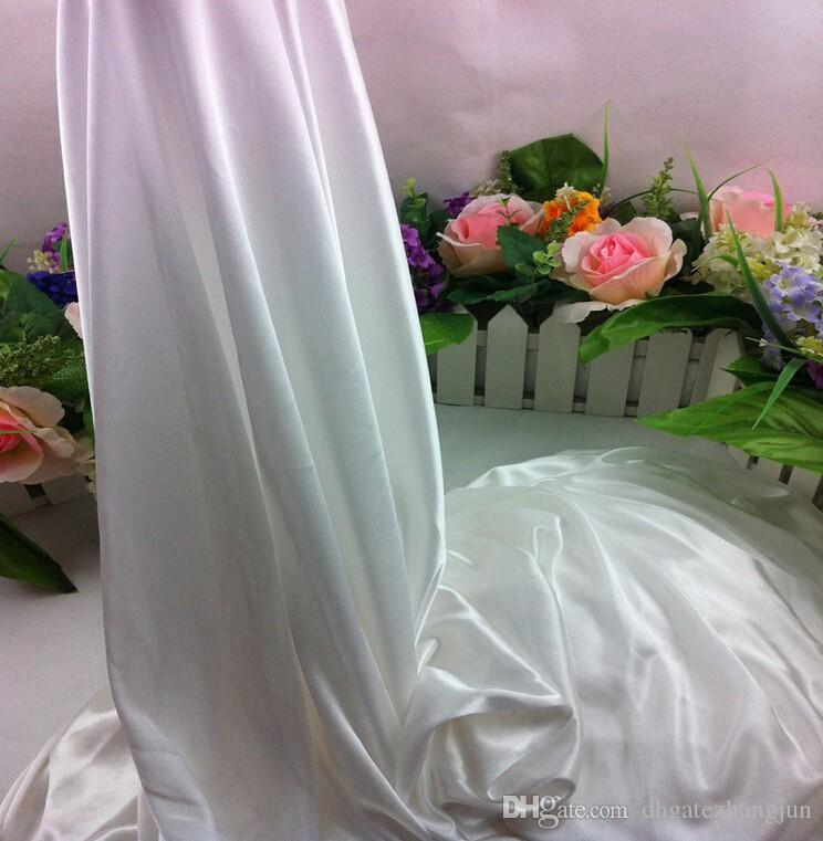 DHL فيديكس شحن مجاني 10ft * 20ft ستارة الزفاف الأبيض مع swags رومانسية الزفاف مرحلة الخلفيات الديكور